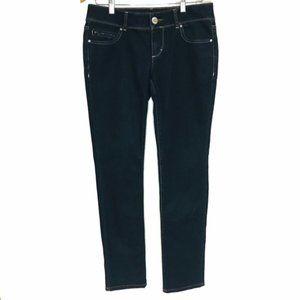 Elle Dark Wash Skinny Jeans size 6R